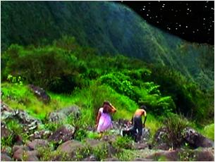 Réalisatrice :Esther Hoareaux Titre :Sanctuaire  Musique et design sonore pour cette fiction sans mots qui traite de l'Age d'Or dans un paradis terrestre...