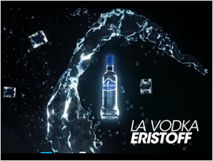 Client : GET27 / Eristoff  En 2012, GET27 rencontre Eristoff. C'est le coup de foudre qui donnera naissance à un cocktail explosif et racé...