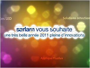 Agence :IRM Agency Client :Sarlam http://www.sarlam.com  Module d'animation programmée Flash avec import de message personalisable (XML).